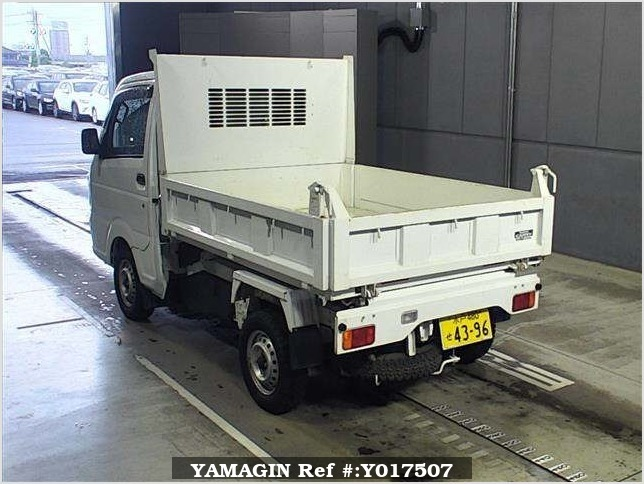 It is a picture of the white suzuki carry in 2014,Sub Photo 1 Stock No.Y017507