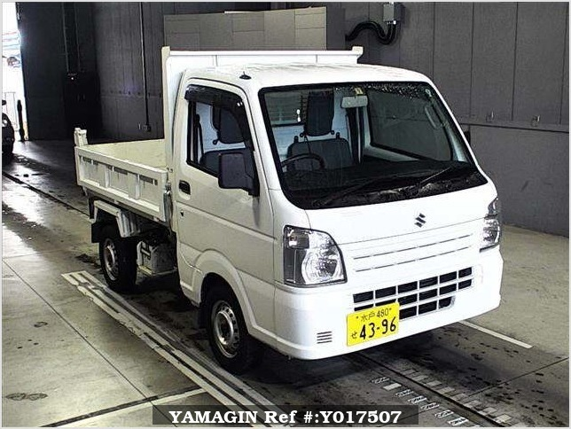 It is a picture of the white suzuki carry in 2014,Sub Photo 0 Stock No.Y017507