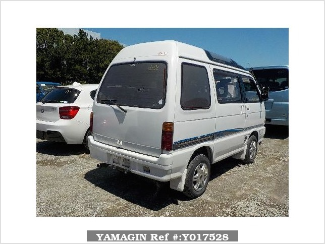 It is a picture of the white daihatsu atrai passenger van in 1992,Sub Photo 2 Stock No.Y017528