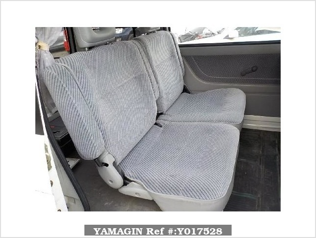 It is a picture of the white daihatsu atrai passenger van in 1992,Sub Photo 7 Stock No.Y017528