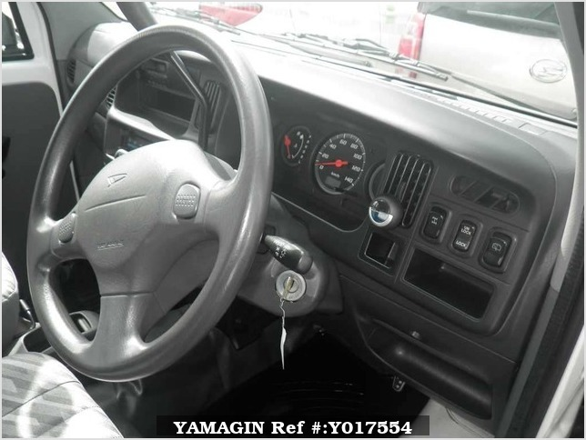 It is a picture of the white daihatsu hijet  in 2004,Sub Photo 6 Stock No.Y017554