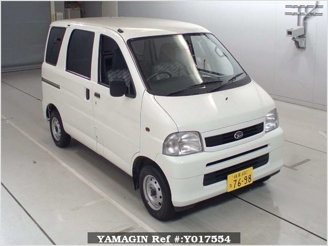 It is a picture of the white daihatsu hijet  in 2004,Sub Photo 0 Stock No.Y017554