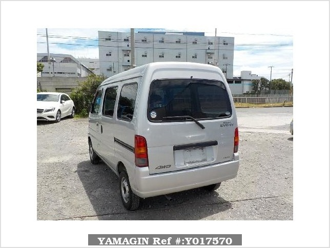 It is a picture of the silver suzuki every passenger van in 2003,Sub Photo 3 Stock No.Y017570