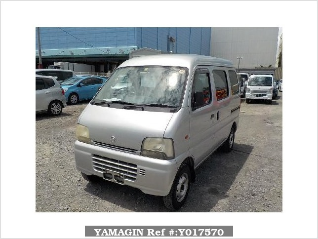 It is a picture of the silver suzuki every passenger van in 2003,Sub Photo 1 Stock No.Y017570