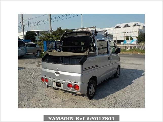 It is a picture of the silver mitsubishi minicab deck van in 2008,Sub Photo 2 Stock No.Y017801