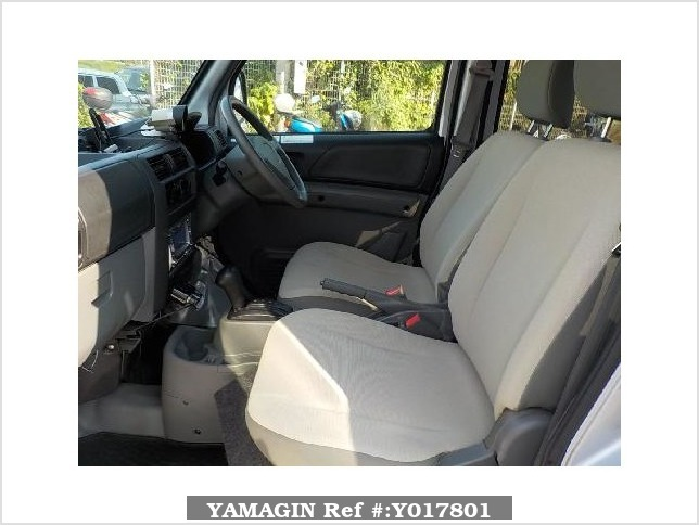 It is a picture of the silver mitsubishi minicab deck van in 2008,Sub Photo 6 Stock No.Y017801