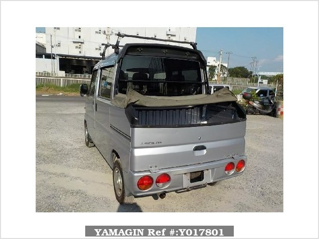 It is a picture of the silver mitsubishi minicab deck van in 2008,Sub Photo 3 Stock No.Y017801