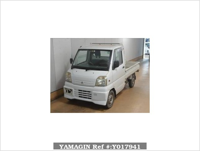 It is a picture of the white mitsubishi minicab in 2000,Sub Photo 0 Stock No.Y017941