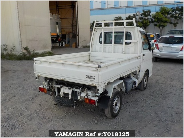 It is a picture of the white daihatsu hijet  scissors dump in 2012,Sub Photo 3 Stock No.Y018125