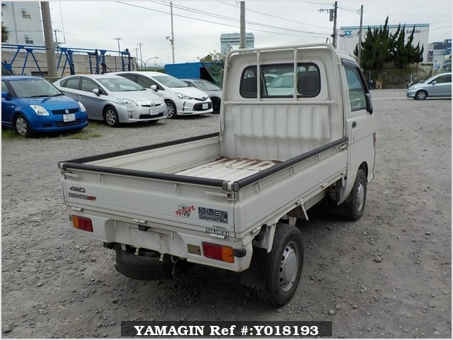 It is a picture of the white daihatsu hijet  truck in 1996,Sub Photo 2 Stock No.Y018193