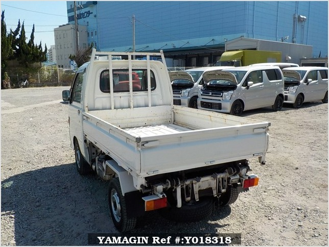It is a picture of the white daihatsu hijet  scissors dump in 1997,Sub Photo 4 Stock No.Y018318
