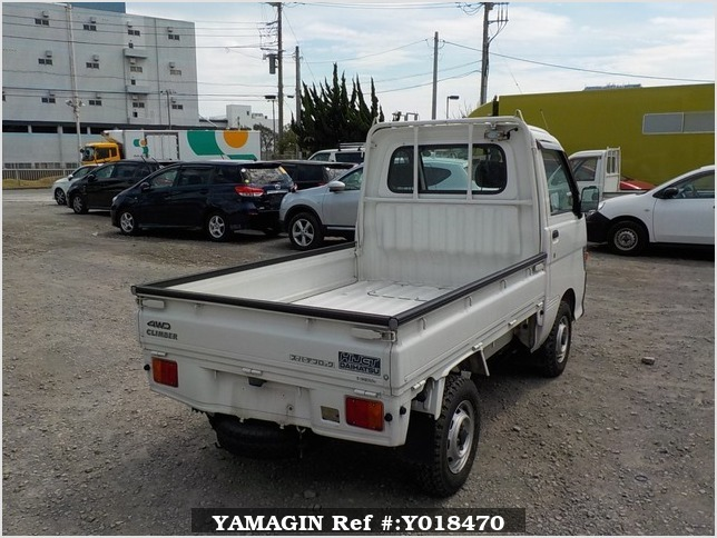 It is a picture of the white daihatsu hijet truck in 1998,Sub Photo 2 Stock No.Y018470