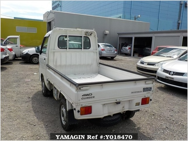 It is a picture of the white daihatsu hijet truck in 1998,Sub Photo 3 Stock No.Y018470