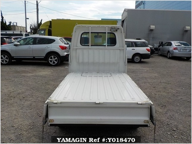 It is a picture of the white daihatsu hijet truck in 1998,Sub Photo 4 Stock No.Y018470