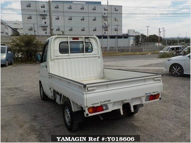 It is a picture of the white nissan clipper truck in 2010,Sub Photo 3 Stock No.Y018606