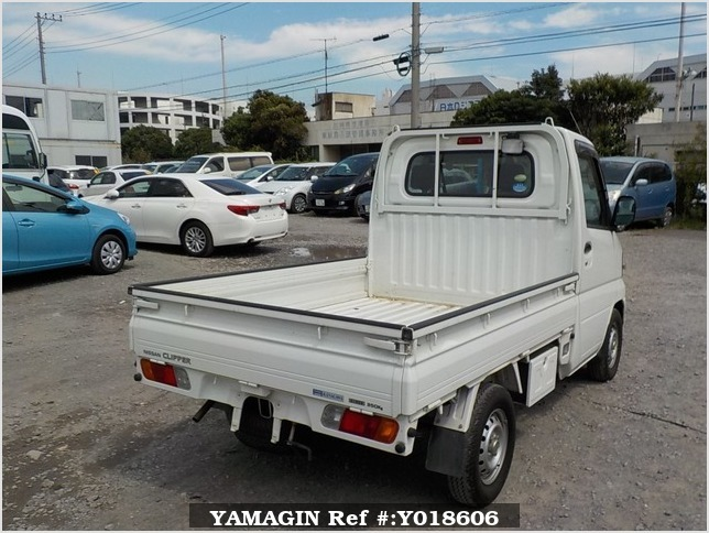 It is a picture of the white nissan clipper truck in 2010,Sub Photo 2 Stock No.Y018606