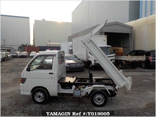 It is a picture of the white daihatsu hijet dump in 1996,Sub Photo 8 Stock No.Y019005