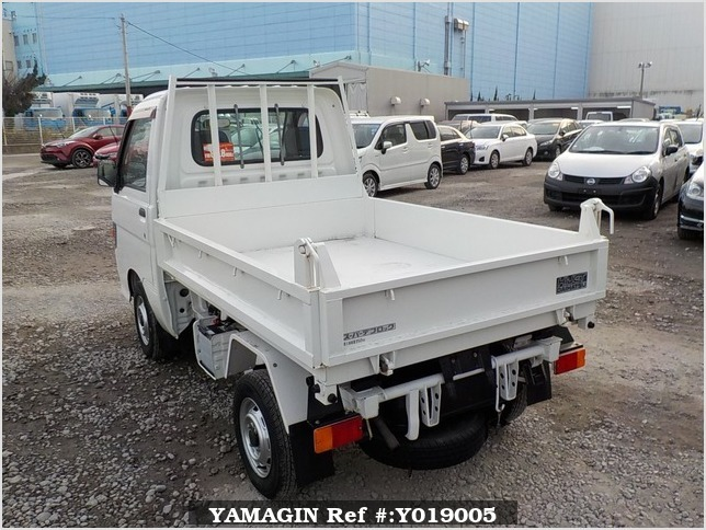 It is a picture of the white daihatsu hijet dump in 1996,Sub Photo 4 Stock No.Y019005