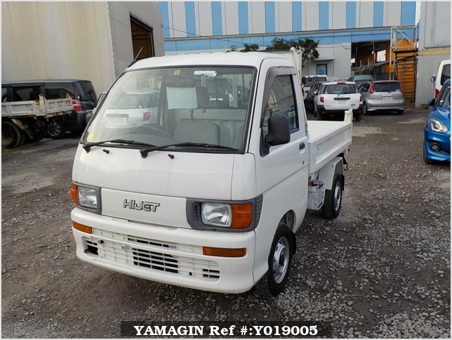 It is a picture of the white daihatsu hijet dump in 1996,Sub Photo 2 Stock No.Y019005