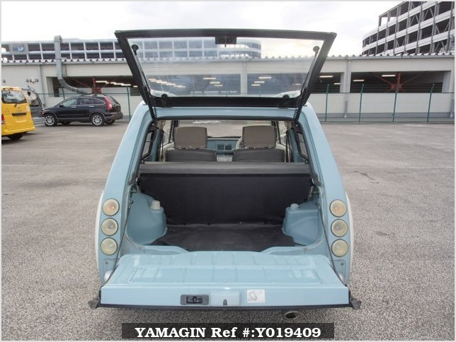 It is a picture of the light blue nissan pao in 1990,Sub Photo 4 Stock No.Y019409