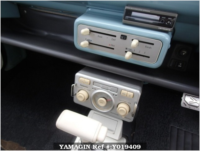 It is a picture of the light blue nissan pao in 1990,Sub Photo 9 Stock No.Y019409