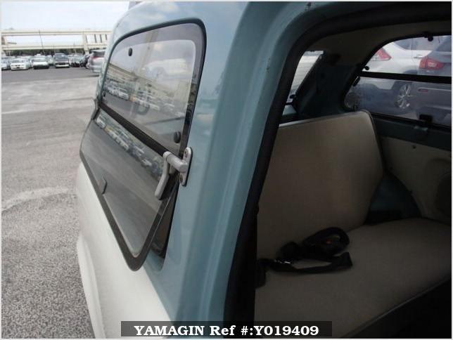 It is a picture of the light blue nissan pao in 1990,Sub Photo 5 Stock No.Y019409