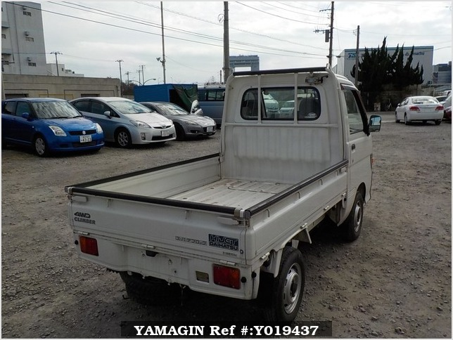 It is a picture of the white daihatsu hijet truck in 1997,Sub Photo 2 Stock No.Y019437
