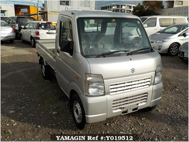 It is a picture of the silver suzuki carry truck in 2012,Sub Photo 0 Stock No.Y019512