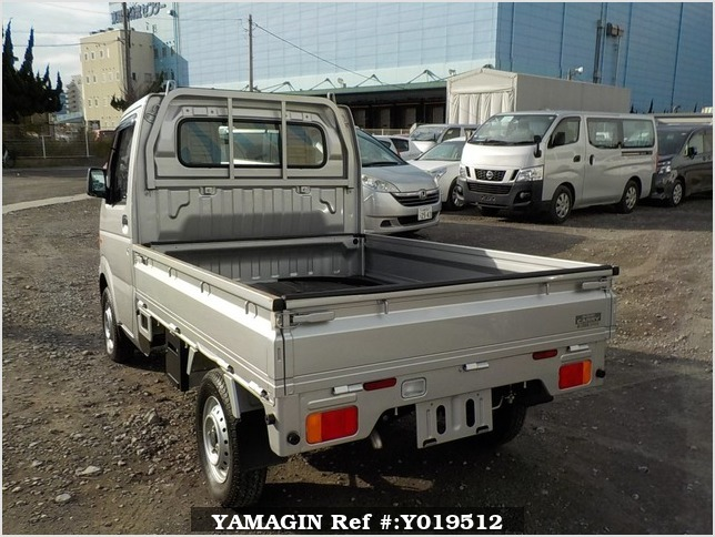 It is a picture of the silver suzuki carry truck in 2012,Sub Photo 3 Stock No.Y019512