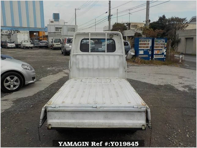 It is a picture of the white daihatsu hijet truck in 1994,Sub Photo 4 Stock No.Y019845