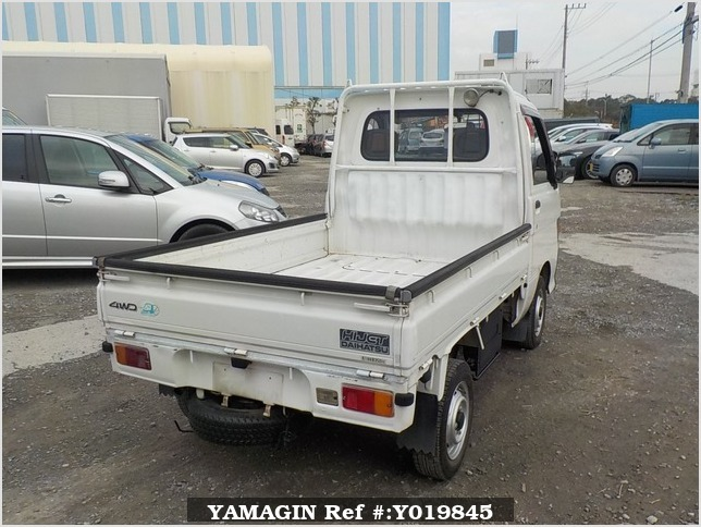 It is a picture of the white daihatsu hijet truck in 1994,Sub Photo 2 Stock No.Y019845