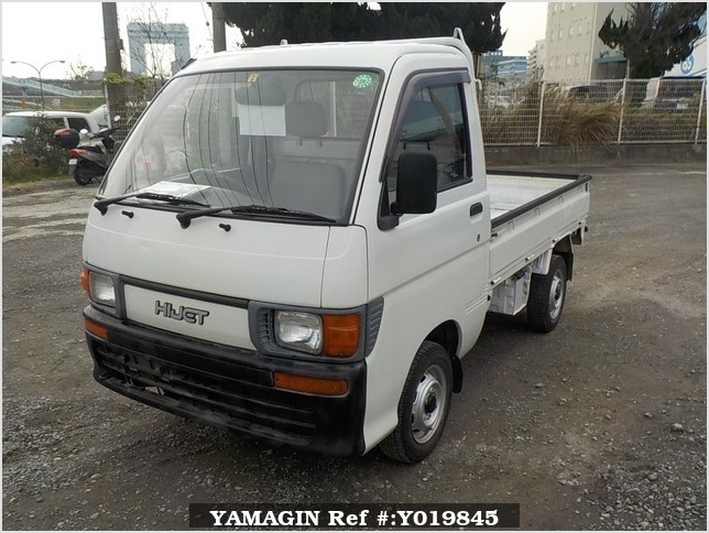 It is a picture of the white daihatsu hijet truck in 1994,Sub Photo 1 Stock No.Y019845