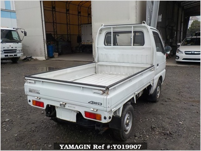 It is a picture of the white suzuki carry truck in 1992,Sub Photo 2 Stock No.Y019907