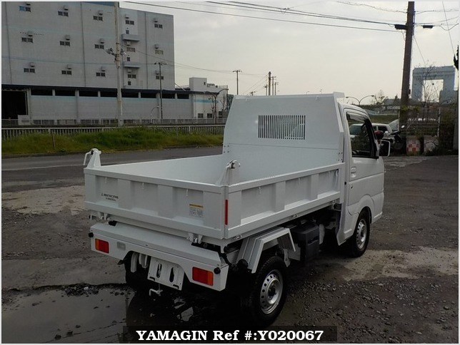 It is a picture of the white mitsubishi minicab dump in 2014,Sub Photo 3 Stock No.Y020067