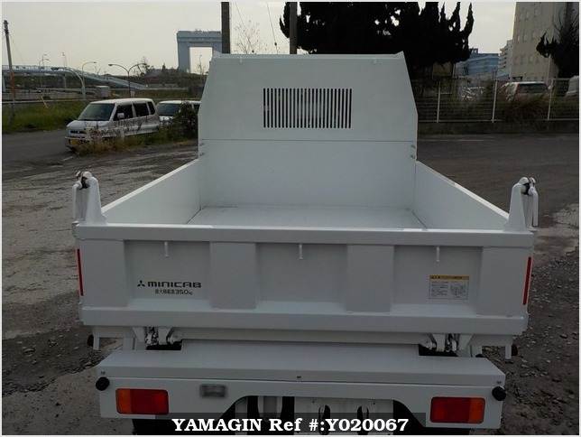 It is a picture of the white mitsubishi minicab dump in 2014,Sub Photo 5 Stock No.Y020067