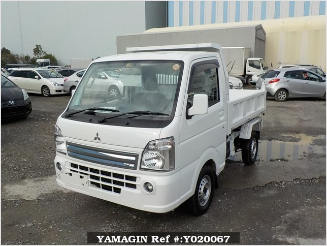 It is a picture of the white mitsubishi minicab dump in 2014,Sub Photo 2 Stock No.Y020067