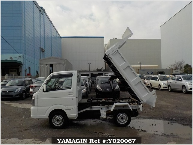 It is a picture of the white mitsubishi minicab dump in 2014,Sub Photo 6 Stock No.Y020067