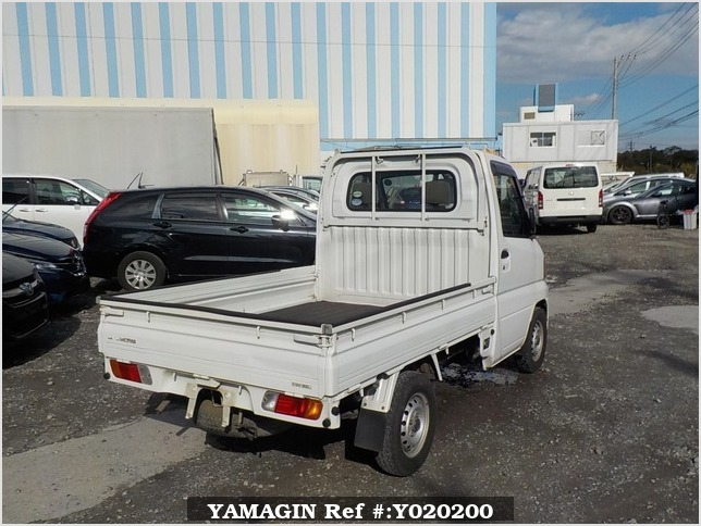 It is a picture of the white mitsubishi minicab truck in 2005,Sub Photo 2 Stock No.Y020200