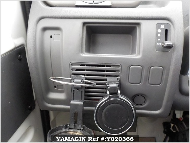 It is a picture of the  white   daihatsu midget ii truck in 1996,Sub Photo 7 Stock No.Y020366