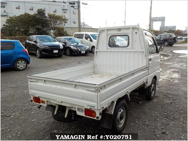 It is a picture of the white mitsubishi minicab truck in 1994,Sub Photo 2 Stock No.Y020751