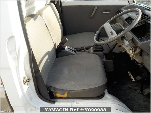It is a picture of the white suzuki carry truck in 1990,Sub Photo 8 Stock No.Y020933