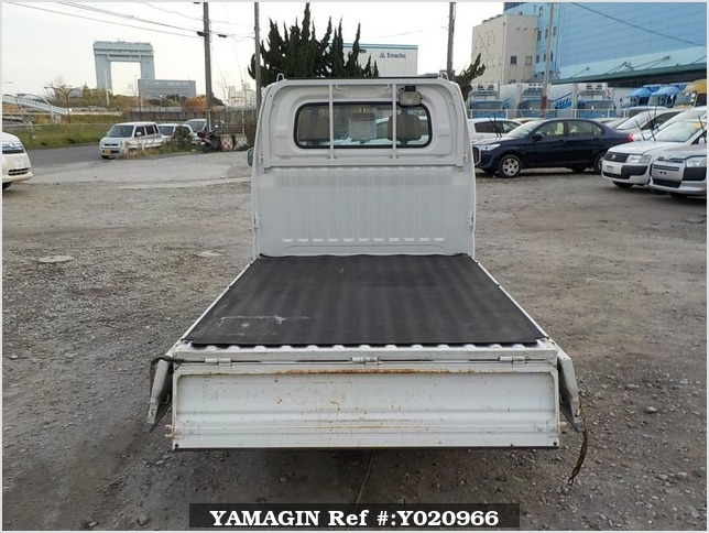 It is a picture of the white mitsubishi minicab truck in 2003,Sub Photo 4 Stock No.Y020966