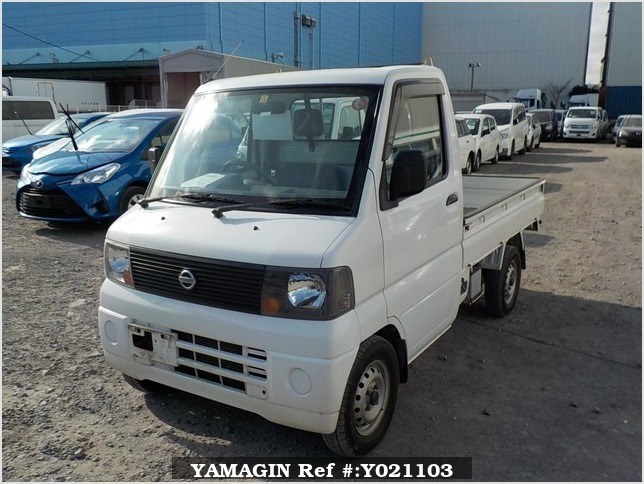 It is a picture of the white nissan clipper truck in 2003,Sub Photo 1 Stock No.Y021103