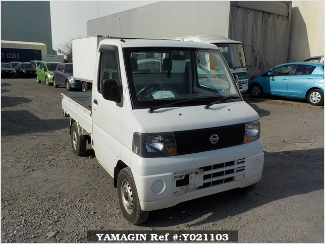 It is a picture of the white nissan clipper truck in 2003,Sub Photo 0 Stock No.Y021103