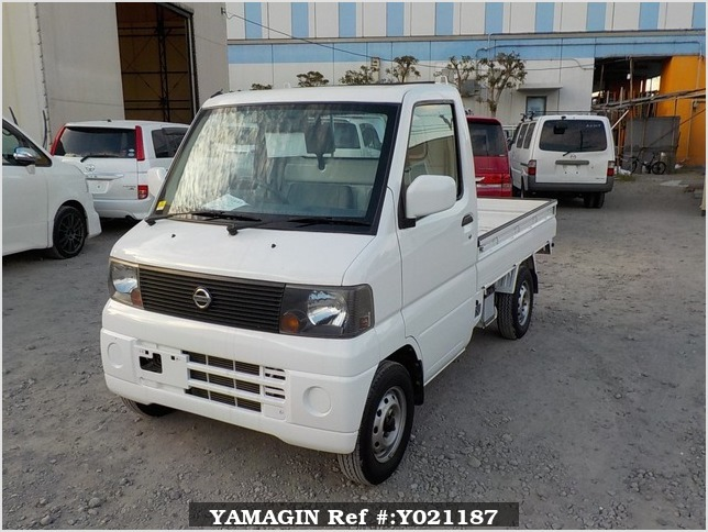 It is a picture of the white nissan clipper  truck in 2004,Sub Photo 1 Stock No.Y021187