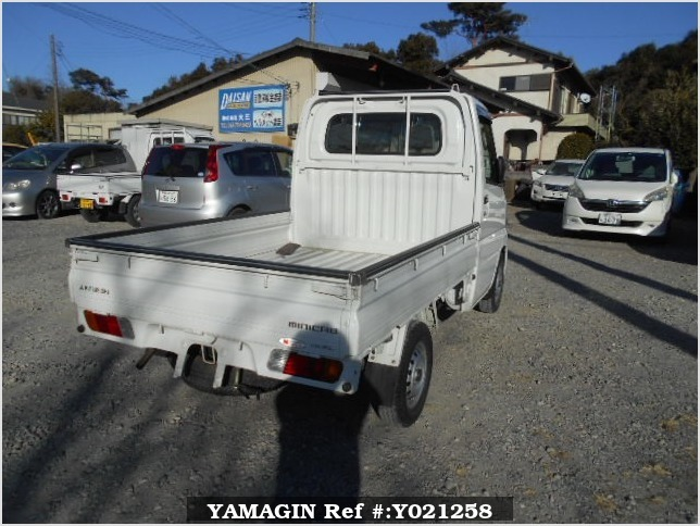 It is a picture of the white mitsubishi minicab truck in 2001,Sub Photo 2 Stock No.Y021258
