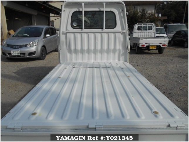 It is a picture of the white daihatsu hijet truck in 1997,Sub Photo 4 Stock No.Y021345