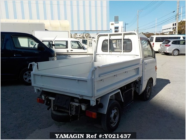 It is a picture of the white daihatsu hijet  dump in 1994,Sub Photo 4 Stock No.Y021437