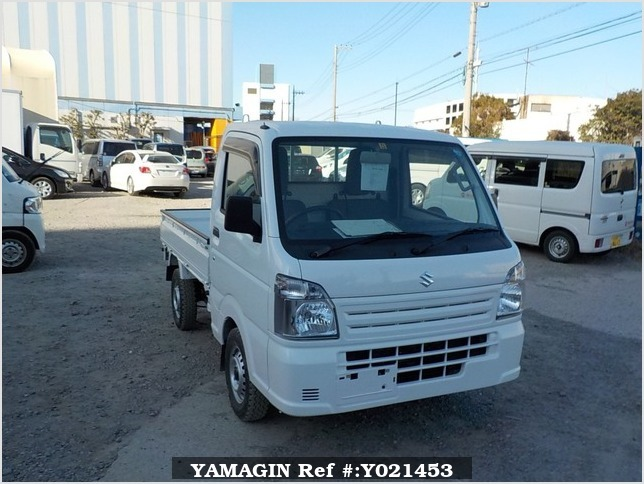 It is a picture of the white suzuki carry dump in 2018,Sub Photo 1 Stock No.Y021453