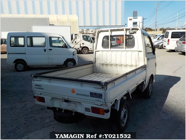 It is a picture of the white daihatsu hijet truck in 1994,Sub Photo 2 Stock No.Y021532